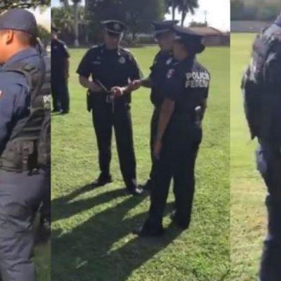 YA SE SABÍA QUE ESTABAN PARALIZADOS, PERO… Realizan policías federales el 'Mannequin Challenge' en Mérida