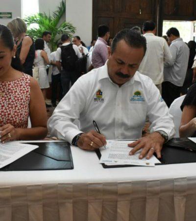 Firman Sedesi y Sedesol convenio de coordinación para identificar la prioridad de los sectores sociales y erradicar la duplicidad de proyectos