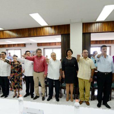 Rinden protesta los integrantes de la Comisión de Productividad del Estado que promoverá mayor desarrollo de las regiones