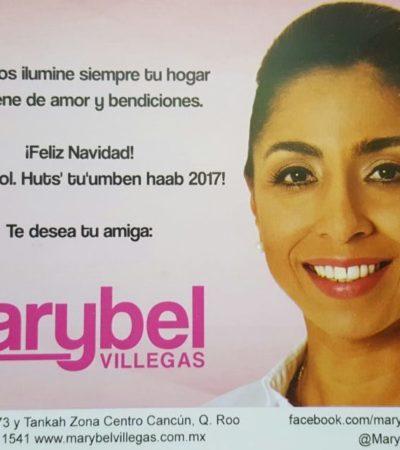MARYBEL SE ADELANTA: Delegada de Sedesol emprende reparto masivo de felicitaciones de Navidad