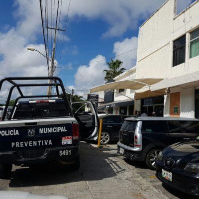 ASALTAN A CUENTAHABIENTE EN EL CENTRO DE CANCÚN: A mano armada, roban $180 mil de la nómina de un negocio en la SM 4