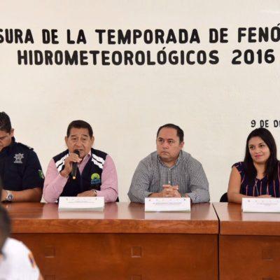 HASTA EL OTRO AÑO: Sin mayor novedad, cierran trabajos de comité especializado en huracanes en Tulum