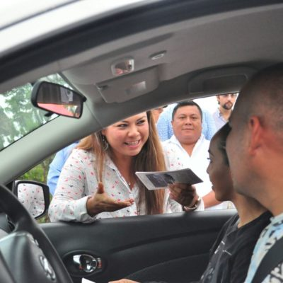 Dan banderazo a operativo Guadalupe-Reyes para seguridad de turistas en Tulum