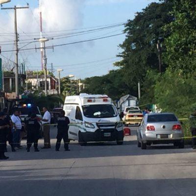 HALLAN CADÁVER DENTRO DE UNA MALETA: Reportan asesinato en la Región 102 de Cancún, a espaldas de escuela primaria