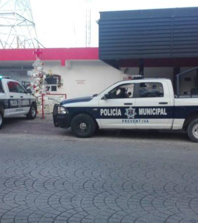 OTRO BALEADO EN CANCÚN: Un hombre llega por sus propios medios a la Cruz Roja con una herida en el pie