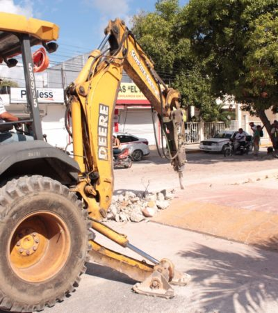 Obliga comuna a constructora a reconstruir paso peatonal mal hecho en Tulum