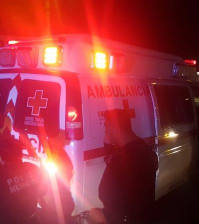 EJECUCIÓN EN 'EL CRUCERO' DE CANCÚN: Matan a balazos a un hombre cuando bajaba de un taxi; suman ya 7 casos en el 2017