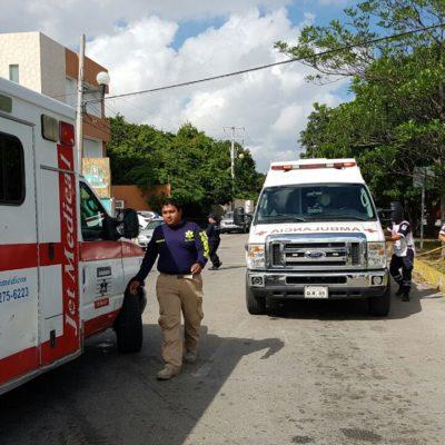 ASALTO CON VIOLENCIA EN CANCÚN: Balean a un hombre para despojarlo de 100 mil pesos en la Nichupté