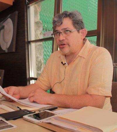 Denuncia Notario a Magistrado Carlos Lima por despojo de terrenos en Holbox cuando estaba al frente del RPPC