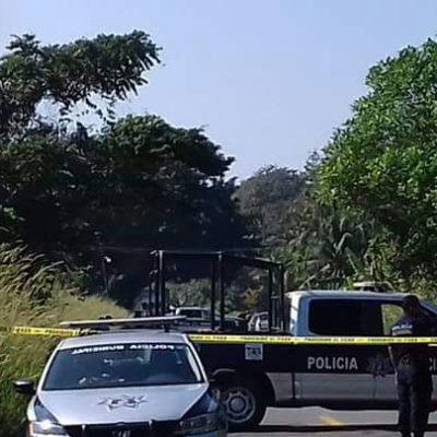 TRES EJECUTADOS E INCINERADOS EN TABASCO: Tras tiroteo en Teapa, dos de las víctimas serían policías