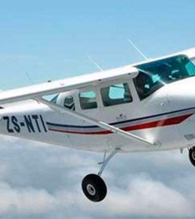 Reportan desaparición de aeronave que despegó de Mérida y se dirigía a Veracruz