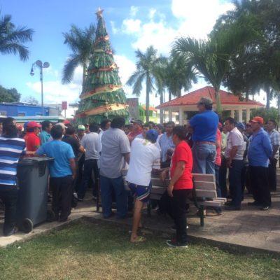 PROTESTAN AHORA CAMPESINOS DE FCP: Al igual que en JMM, piden pago de indemnizaciones por sequía; llegan a acuerdos con Gobierno