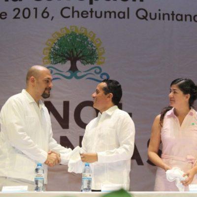 Ratifica Carlos que su gobierno será transparente y pone en marcha una 'línea de denuncia ciudadana' contra la corrupción