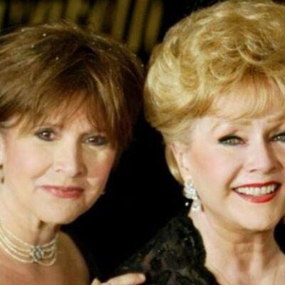 Un día después de la muerte de Carrie Fisher, fallece su madre, la actriz Debbie Reynolds