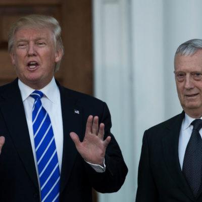 Elige Trump a James Mattis, un general retirado, como su secretario de Defensa
