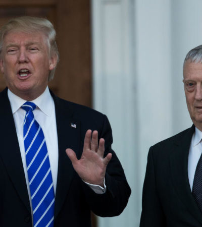 Elige Trump a James Mattis, un general retirado, como su secretario de Defensa
