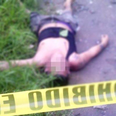 A balazos, ejecutan a un ex convicto en Cárdenas