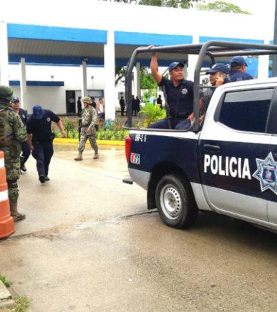 DELINCUENCIA EN TABASCO: Arresta Ejército a 8 policías en Cárdenas por nexos con criminales