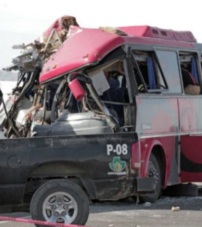 Al menos 11 muertos y 9 heridos en carreterazo en Chihuahua