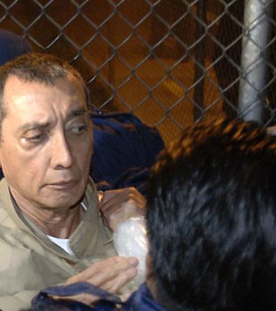 Llegaría Mario Villanueva este miércoles a México y un hospital podría ser su primera parada