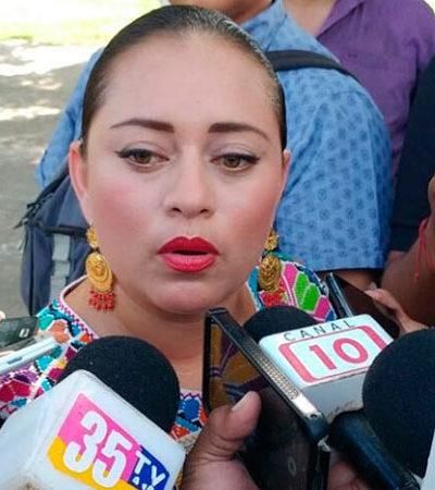Acusa Perla Tun que en el Congreso le pidieron 'diezmo' para otorgarle recursos; por 'fobias partidistas' no se acercó a diputados del PRI, reviran