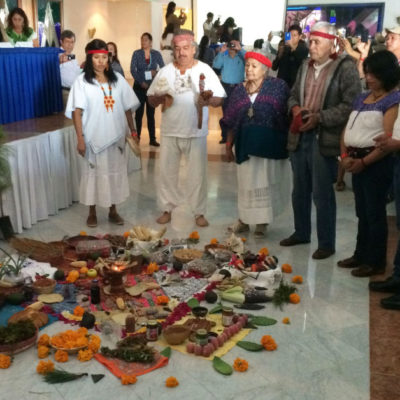 Rompeolas: Indignante trato a mayas de Quintana Roo en la COP 13