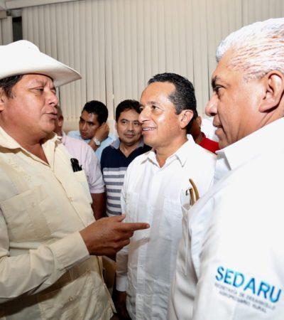 QUE AHORA SÍ DESTRABARÁN APOYOS AL CAMPO: Instala Carlos Joaquín el Consejo Estatal para el Desarrollo Rural Sustentable de Quintana Roo