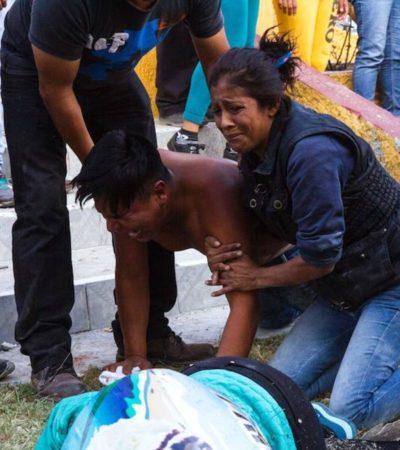 AUMENTAN LOS MUERTOS DE LA TRAGEDIA DE TULTEPEC: Suman ya 32 fallecidos y 59 heridos; hay 12 desaparecidos