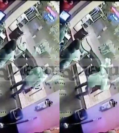 """""""SOLO 6 SEGUNDOS DURÓ EL ATAQUE"""": Revela diario 'Quequi' video de la ejecución de empleados del Mandala de Cancún"""