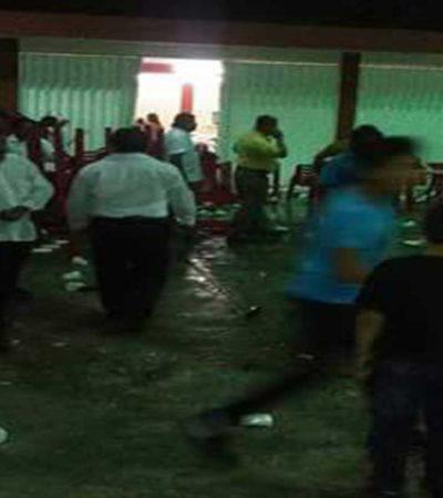 Festejos guadalupanos terminan en zafarrancho de taxistas en Isla Mujeres