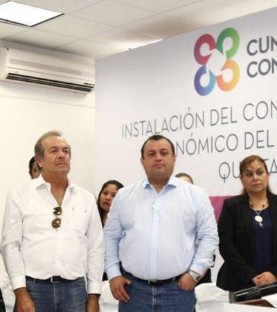 Instala Alcalde el Consejo Municipal de Desarrollo Económico 2016-2018 en Cancún