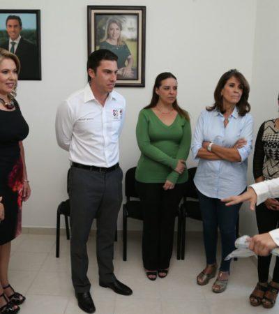 Inaugura Remberto Estrada módulo de atención Red DIF en Cancún