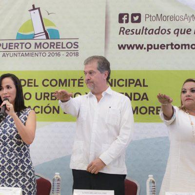 Rinde protesta Comité Municipal de Desarrollo Urbano y Vivienda  del Centro de Población de Puerto Morelos