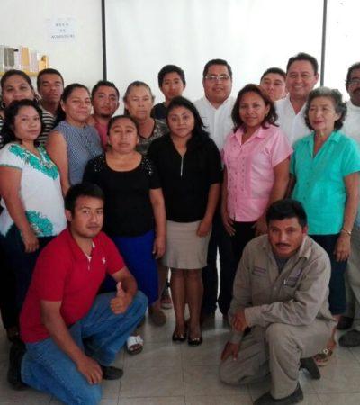 Capacitan en temas técnicos, administrativos y de desarrollo humano a empleados del Ayuntamiento de Puerto Morelos