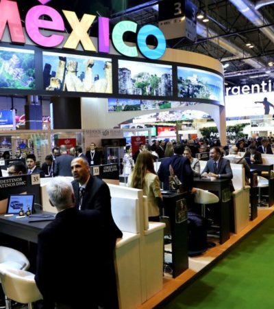 Consolida Puerto Morelos presencia en la Feria Internacional de Turismo