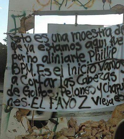 SE ATRIBUYEN 'ZETAS' MATANZA EN EL BLUE PARROT: Aparece narcomanta en colonia Ejidal y advierten más ataques contra grupos rivales del narco