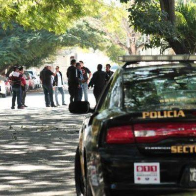 Detienen a un hombre por disparos en la madrugada a media cuadra del Consulado de EU en Mérida