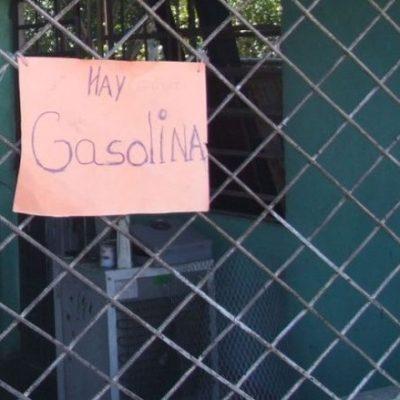 Venden gasolina hasta en $10 en el 'corredor de la ordeña' en Tabasco