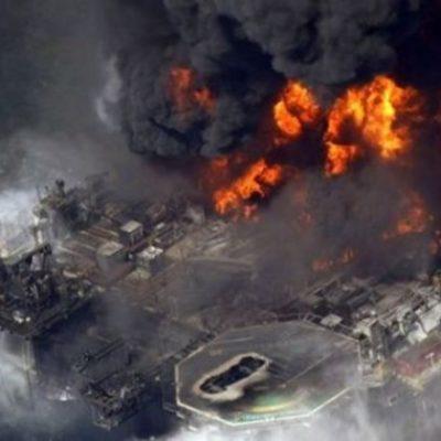 ARDE PLATAFORMA PETROLERA EN EL GOLFO DE MÉXICO: No reportan heridos tras incendio frente a la costa de Louisiana