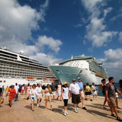 Programan arribo de 35 cruceros a Cozumel y 7 a Mahahual durante la semana