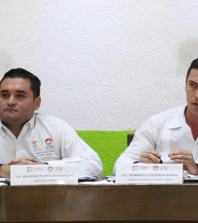Mantiene Remberto Estrada al borgista Mauricio Rodríguez como Secretario hasta que no se le comprueben acusaciones