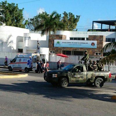 ATAQUE CONTRA LA FISCALÍA EN CANCÚN: Intensa balacera en la sede de la fuerza policiaca deja saldo de 4 muertos