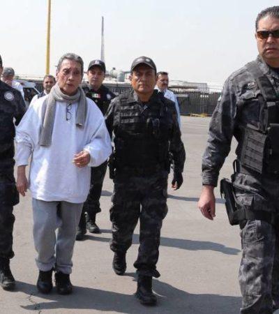 Difunde PGR video de la llegada de Mario Villanueva Madrid a México