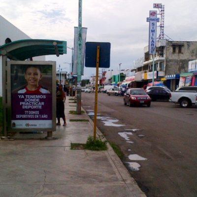 Chetumal se queda sin transporte urbano… otra vez