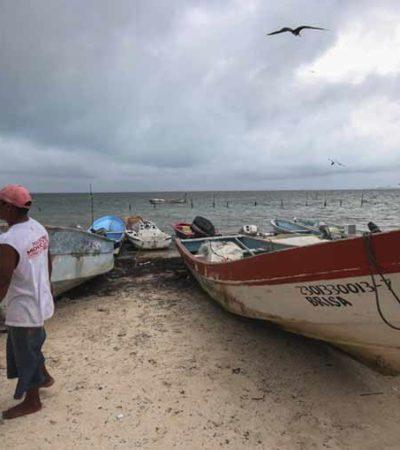 Provoca frío fuertes pérdidas a náuticos en Cancún