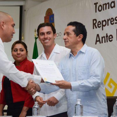 """A 100 días de Gobierno, dice Carlos Joaquín que avanzan """"con rumbo"""" y que se terminó con el autoritarismo del pasado"""