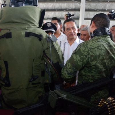 """""""TOCAMOS PUNTOS DELICADOS… HAY QUE ROMPER ALIANZAS"""": Dice Gobernador que """"no habrá puente de comunicación ni negociación con la delincuencia"""""""