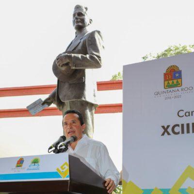 Dice Carlos Joaquín que respaldarán la economía de los ciudadanos con apoyos y programas