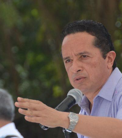 Coloca Gobernador primera piedra de instalaciones de la Policía Federal en Playa del Carmen