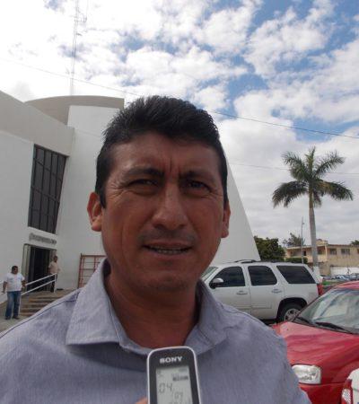 Rompeolas: 'Chepe' vuelve a la carga en Bacalar